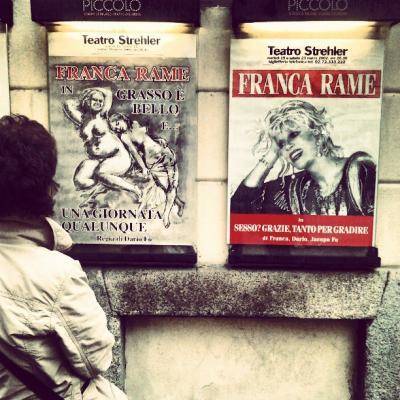 Poslechové cvičení VI. - Franca Rame, ciao!
